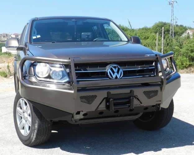 Bullbar VW Amarok utan dimljus