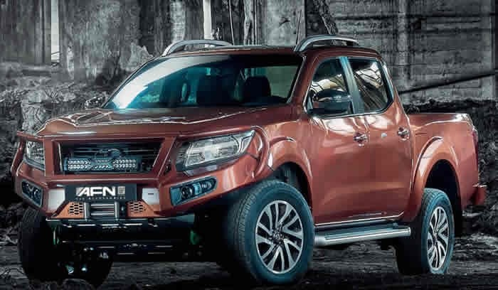Nissan NP300 Bullbar från AFN
