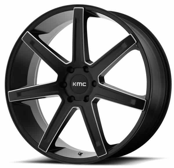 KMC KM700 Revert Satin Black Milled