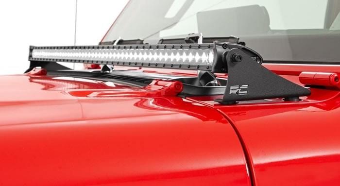 LED-Ramp med huvfäste Jeep Wrangler JL