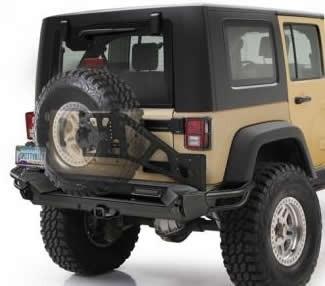 Bakstötfångare Jeep Wrangler JK, Smittybilt SRC Gen2