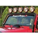 Extraljusbåge vindruta, Jeep Wrangler JK, Rugged Ridge