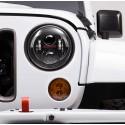 """LED strålkastare 7"""" Jeep Wrangler JK / TJ, J.W. Speaker"""