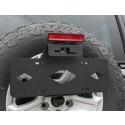Nummerskyltshållare, Jeep Wrangler JL