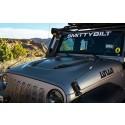 Motorhuv Stingray, Jeep Wrangler JK, Smittybilt
