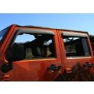 Vindavvisare fönster Rugged Ridge, Jeep Wrangler JK exempelbild