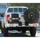 Bakkofångare med hållare för reservhjul och jeepdunk Toyota Hilux AFN
