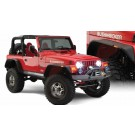Skärmbreddare Flat Style, Jeep Wrangler TJ, Bushwacker