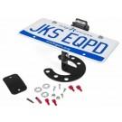 Nummerskyltshållare för reservhjul