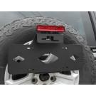 Nummerskyltshållare Jeep Wrangler JL
