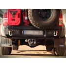 Bakstötfångare Hilux med reservhjulshållare och dunkhållare